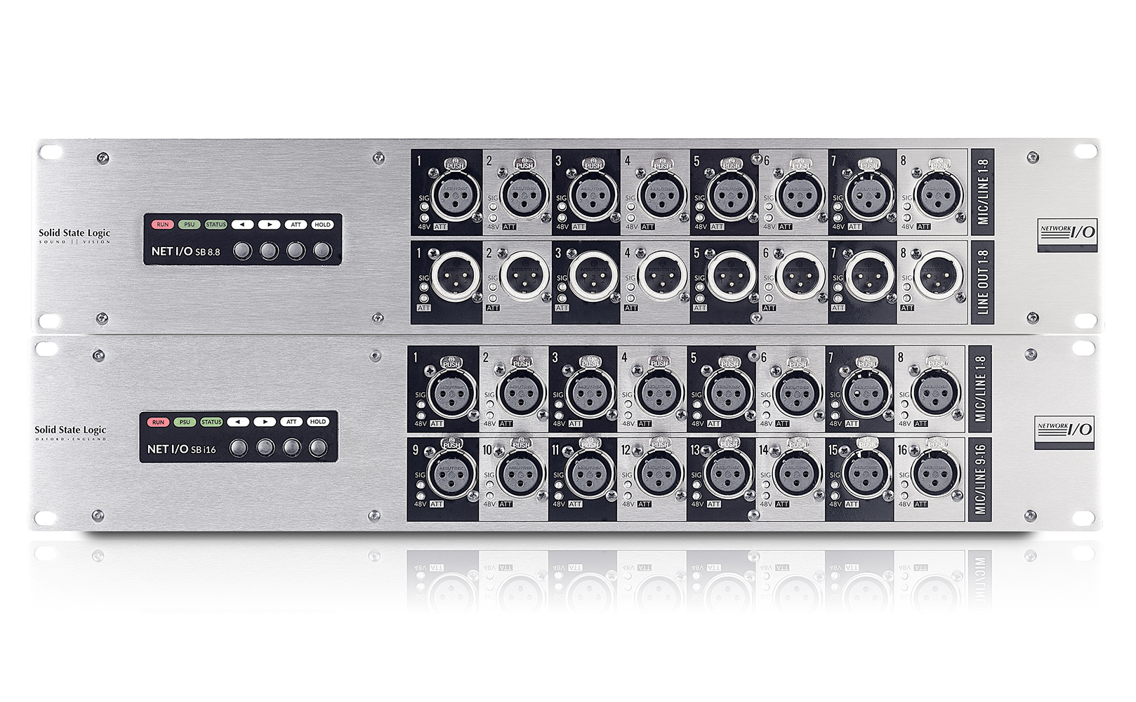 Network I O Solid State Logic Stereo Preamplifier With Adjustment Tone By Tca5550 Stageboxes