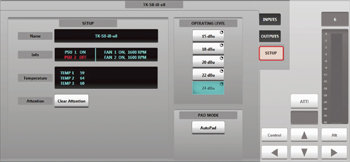Network I/O Stageboxes