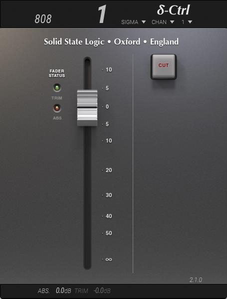 δelta-Control | Solid State Logic