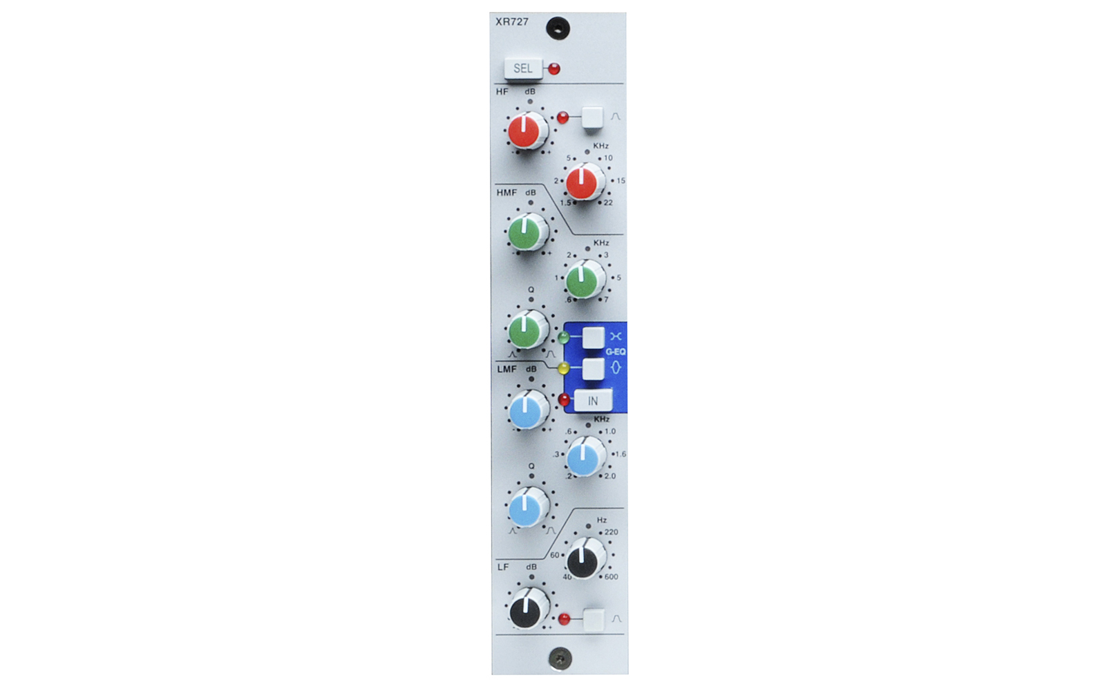 Modules Solid State Logic 221510 Band Stereo Graphic Equaliser Eq Module