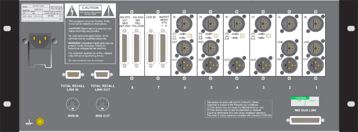 Chassis Specs